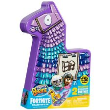 NEW Fortnite Mighty Beanz Loot Llama Collectors Tin Inc 2 Exclusive Mighty Beanz