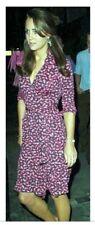Diane Von Furstenberg Duenne Paisley DVF dress ASO Royal size 10