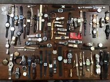 Vintage watch lot over 80 watches timex Milan Omni Casio seiko gold silver tone
