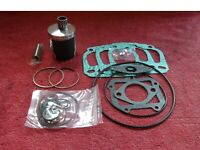 Aprilia Rs125 Rs 125 Top end rebuild kit.New piston kit,little end & gasket set