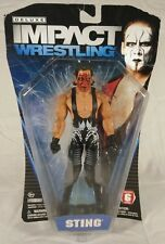 TNA Impact STING Deluxe Wrestling Action Figure Series 6 Red Paint JAKKS W22