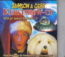 Samson&Gert-Kerstshow Cd single