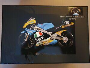 Valentino Rossi Minichamps 1:12 Scale Aprilia 125ccm GP 1996 Model No. 122960046