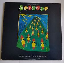 MANTECA: Strength in Numbers LP Record 1984