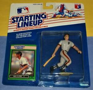 1989 WILL CLARK #22 San Francisco Giants NM * FREE s/h * Starting Lineup