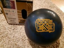 "Storm Code X 1st Quality Bowling Ball | 12 Pounds | 1.5-2"" Pin 