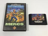 Mega drive Genesis game Mercs
