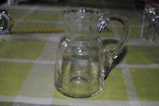 Kleine Glaskanne für Wein oder Fruchtsaft - Höhe 12cm - 1/4 Liter? (126)