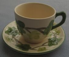 SIX Franciscan Ivy Cup and Saucer Sets