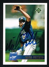 Mike Fetters #142 signed auto autograph 1996 Topps Baseball Trading Card