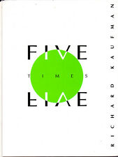 Five Times Five Japan Magic Book-1st Edition-Balls Coins Cards-Close-Up Illusion