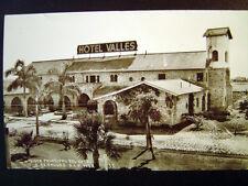 Ciudad Valles Mexico Hotel Valles Real Photo Postcard c1940
