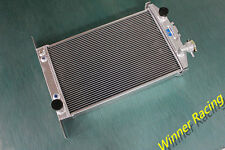 "2X1"" ALUMINUM RADIATOR FORD STREET/HOT ROD W/350 CHEVY V8 AUTO AT 1937-1939 1938"