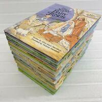 Lot of 24 Alice in Bibleland Bible Story Books Grolier Book Club Davidson