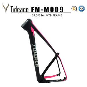 27.5/29er Full Carbon OEM Mountain Bicycle Frame T800 Carbon MTB Cycle Bike Fram