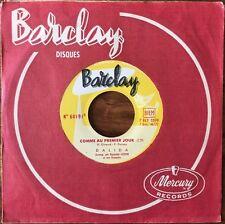 Dalida - L'Arlequin De Tolède / Comme Au Premier Jour - Barclay - 45T (Single)