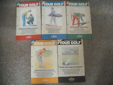 YOUR GOLF Complete Guide To Better Parts 1 - 5 Today's Golfer Publication 1990