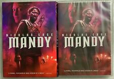 NEW MANDY DVD + SLIPCOVER SLIP FREE WORLD WIDE SHIPPING NICHOLS CAGE CULT HORROR