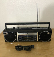 General Electric 3-5623a  AM/FM Portable Radio Cassette Player Recorder