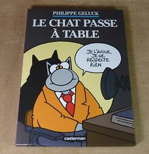 PHILIPPE GELUCK - LE CHAT PASSE A TABLE - CASTERMAN 2014