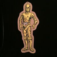 "Star Wars C-3PO Vintage 1980 Manton Cork Bulletin Board 23"" x 10"""