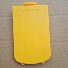 Texas Instruments TI-84 Plus Silver Edition BATTERY DOOR/BATTERY COVER(Yellow)