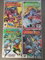 DC BLOODLINES 4 BOOK LOT BATMAN ANNUAL 17 ADV SUPERMAN 5 MAN OF STEEL 2 ROBIN 2
