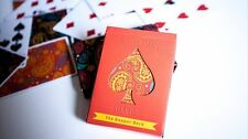 Il Dapper Piattaforma (Arancione) di Vanishing Inc. Poker Carte Da Gioco