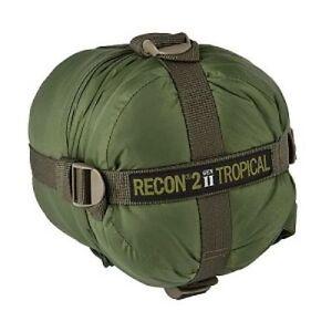 HALO Recon 2 Gen II Sleeping Bag 41°F / +5°C Military Spec Tactical GREEN