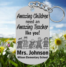Special Education Teacher Keychain, Personalized w' NAME! Great Gift