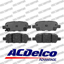 Rear Disc Brake Pads Ceramic ACDelco Advantage 14D905CH Fits Infiniti Nissan