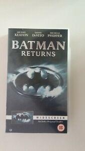 Batman Returns - VHS Video Widescreen - # E.  Sealed & unplayed
