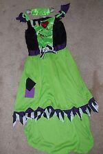 Girls Halloween costumes Frankenstein age 11-12 Kids Witches new Fancy dress