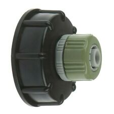 "IBC Hose Connector /  Water Tank Reducer S60X6 to 1/2"" Garden Hose / Adapter"