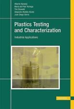 Plastics Testing and Characterization : Industrial Applications (Hardcover)