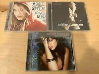 ASHLEE SIMPSON 3 CD Lot - Bittersweet World - I Am Me - Autobiography
