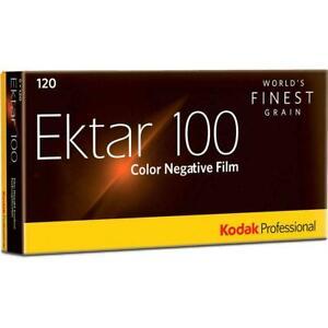 Kodak 8314098 Professional Ektar Negative Film 120 Propack of 5  Fresh Stock