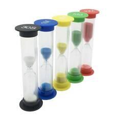 0.5/1/2/3/5/10 Min Hourglass Sandglass Sand Clock Kid Clocks Home Timer Decor