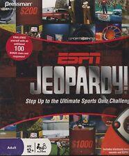 ESPN Jeopardy Game Electronic Sports Quiz Challenge by Pressman Toy (NIB)