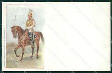 Military Russia Russian Soldier Horse postcard XF3653