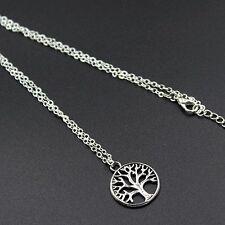 ALBERO della vita Ciondolo Collana/catena silver gioielli idea regalo Boho Hippie