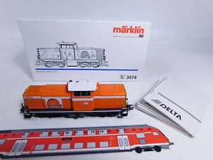 CQ540-1# Märklin H0/AC 3474 Diesellok Seco/DG NEM KK Delta/digital, NEUW+OVP