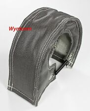 T3 T25 T28 GT25 GT35 T3/T4 T60 Turbo Heat Shield Blanket Cover w/ Lock Springs