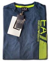 Men's EA7 Emporio Armani Crew Nack Short Sleeve T- Shirts Navy Size: XLarge !!!