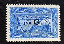 "Canadian Stamp, Scott O27 1 Dollar Fisherman - ""G"" VF/XF  M/NH. Gorgeous!"