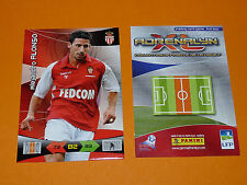 A. ALONSO AS MONACO LOUIS II  FOOTBALL FOOT ADRENALYN CARD PANINI 2010-2011