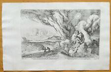 Bauer Metamorphoses Mythology Ovid Original Print Theseus Minotaur 1709