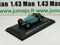 AUT34M Voiture 1/43 IXO altaya Voitures d'autrefois Georges Irat OLC3 Roadster