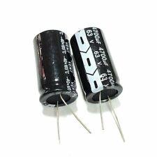 63V 10uF 680uF 1000uF 2200uF 3300uF 4700uF 105C Aluminum Electrolytic Capacitor