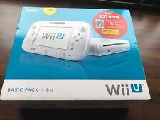 Nintendo Wii U Console Basic Pack 8gb With Super Smash Bros Brand New UK Pal